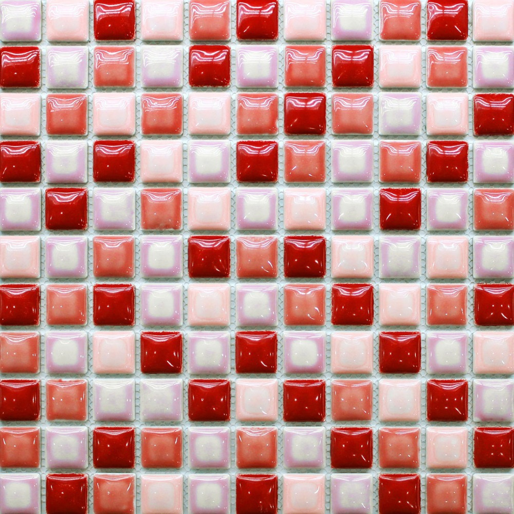 mosaic fashion picture more detailed picture about tiles mosaics tiles mosaics red tile backsplash kitchen bath wall floor shower tub walls 1x1 squared 12x12 ceramic