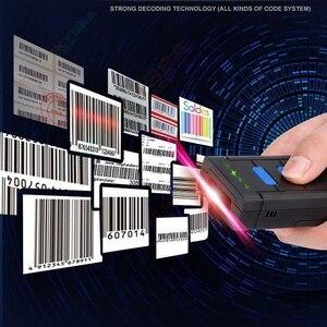 Image 2 - EYOYO MJ 2877 البسيطة الباركود ماسحة 1D 2.4G اللاسلكية الباركود ماسحة لنظام أندرويد IOS ويندوز ماسح مزود بتقنية البلوتوث