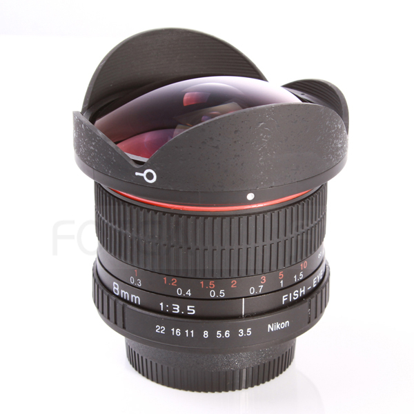 8mm F/3.5 F3.5 HD Fisheye camera LENS pour nikon D7100 D5300 D5200 D3300 D90 D80 D7000 d300 d200
