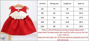 Image 5 - 아기 소녀를위한 크리스마스 복장 파티 공주 복장 가을 겨울 유아 어린이 결혼식 아기 소녀 복장 0 2 년