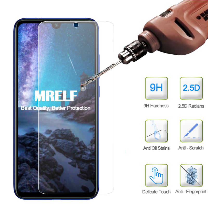 2.5D 9H Screen Protector for Xiaomi Redmi Note 7 Pro Tempered Glass On Phone Protective Film for Xiaomi Redmi 7A Note 7 Glass(China)