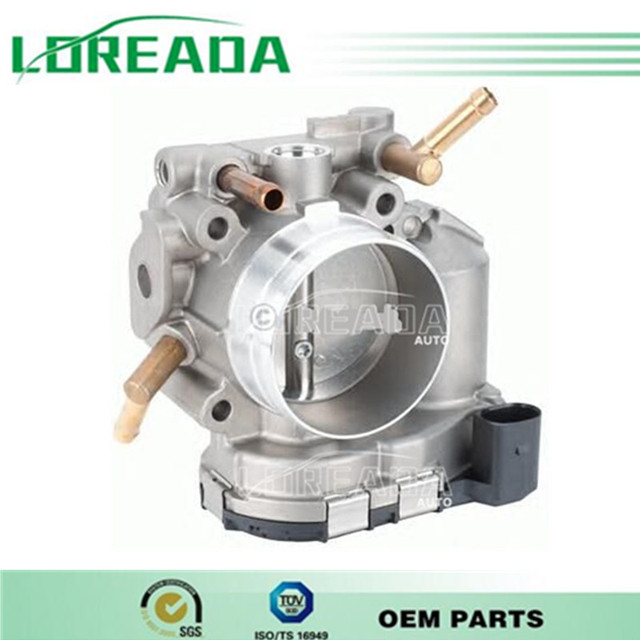 OEM quality Throttle Body Assembly  for 06A133062D VW New Beetle Jetta Golf Polo Fox 2.0  Bore Diameter57MM Throttle valve