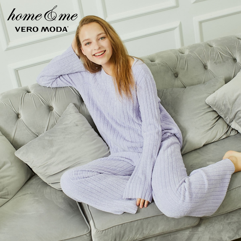 Vero Moda 2019 New Comfortable Striped Suit Homewear Pajamas Sets | 3183K6505