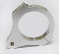 32MM Diameter Aluminum Steering Damper Fork Frame Mounting Clamp Bracket Foot Fixer For Motorcycle Bike Modification