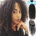 Бразильский Девственные Волосы С Закрытия Странный Вьющиеся Волосы 3 Пучки С Закрытием Необработанные Бразильские Вьющиеся Волосы Девственницы С Закрытием