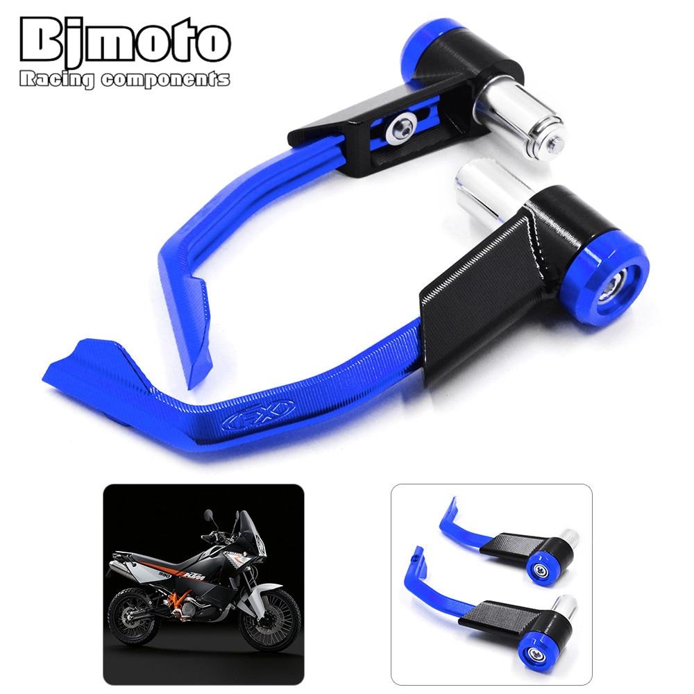 Bjmoto for yamaha Honda Suzuki kawsaki KTM motorcycle 22mm Handlebar Protector Motorcycle Proguard Brake Clutch Systems