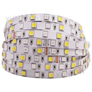 Image 4 - DC12V 24V RGB + CCT taśmy LED SMD 5050 RGBW RGBWW RGB WWA elastyczna taśma led liny taśma dekoracyjna światła 5M