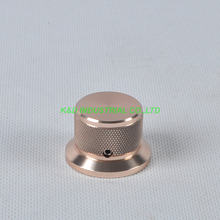 1pc 38x30x25mm Gold Aluminum Vintage Control Reticulate Knob for Guitar Amplifer Audio