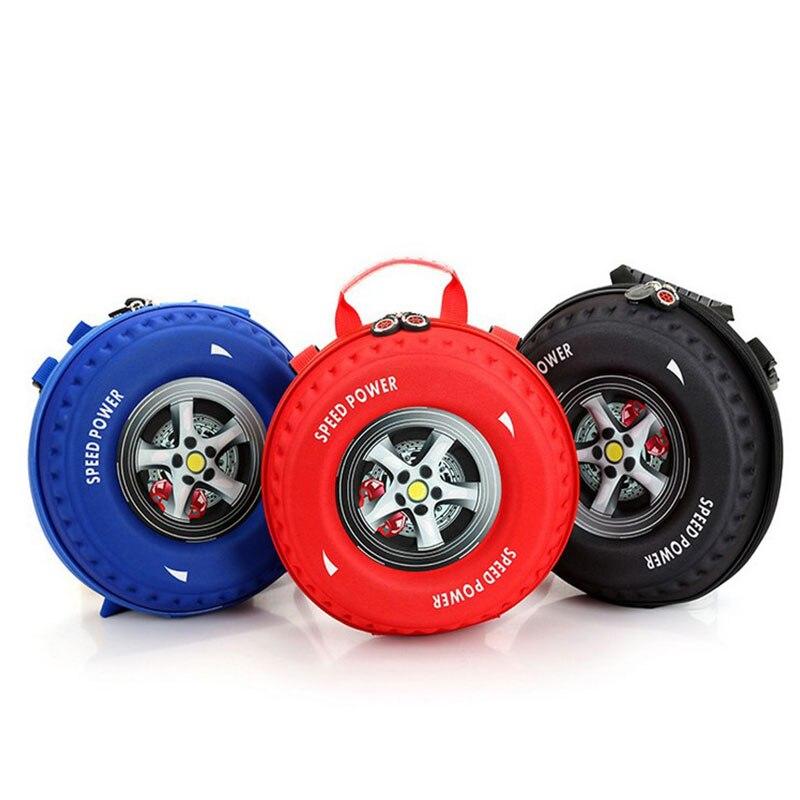 Дети Красный, черный, синий цвет автомобиля Hotwheel игрушки для детей Симпатичные Модные трафика 3D колеса Форма сумка для мальчика и девочки де... ...