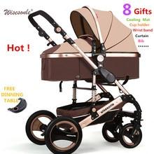 O envio gratuito de certificação SGS garantia de 3 ano do bebê carrinho de criança 0-3 anos de Multi-opções de cores Borracha Natural Quatro roda