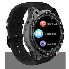 Купить с кэшбэком 2018 Hot Sale smart watch X100 With Android 5.1 Camera round 3G Sim Card Watch Sport Watch GPS Wifi  heart rate 8GB adult watch