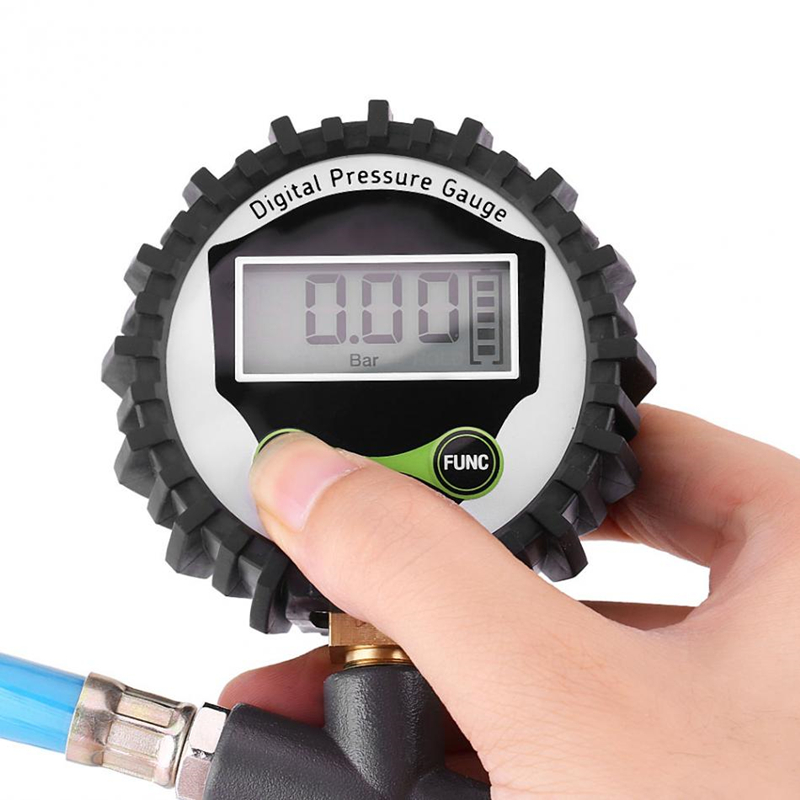 0 220psi 0 16bar Digital Tyre Pressure Gauge Tyre Tire Air Pressure Inflator Gauge Meter Tester Manometer in Tire Pressure Alarm from Automobiles Motorcycles