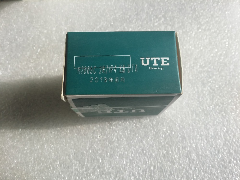 UTE double roulements à contact oblique scellés H7005C-2RZ/P4-DTA roulements de broche de vitesse CNC 7005 25mmX47mmX12*2mm ABEC 7