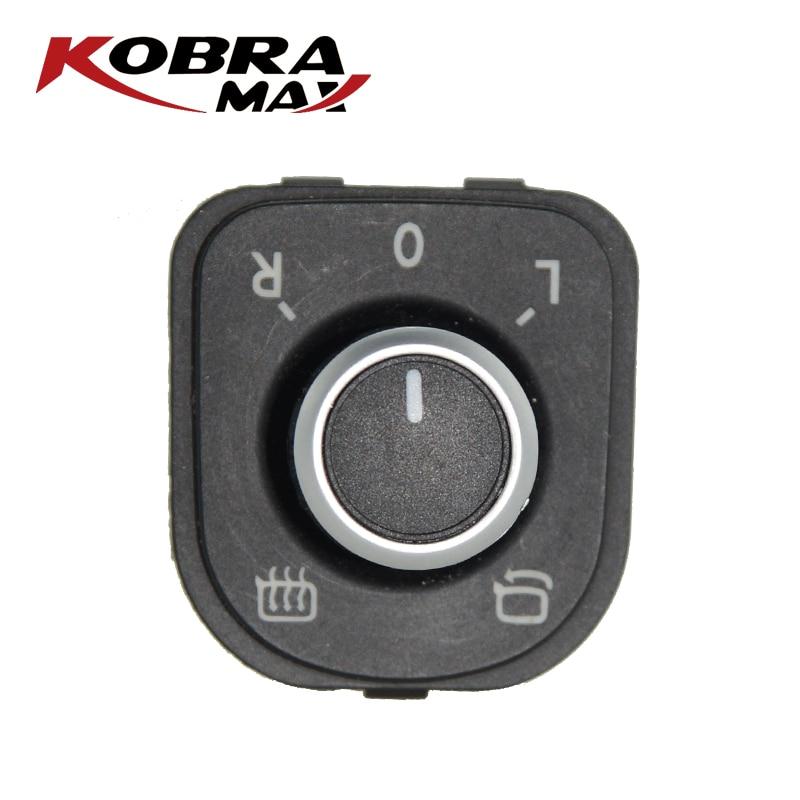 KobraMax Power Side กระจกปรับลูกบิด 5ND959565B เหมาะสำหรับ J etta MK5 Golf MK5 MK6 Passat B6 3C Tiguan รถอุปกรณ์เสริม