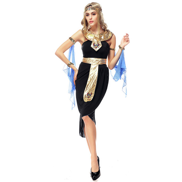 Aliexpress.com : Buy 5pcs Adult Women Egyptian Goddess Costume ...