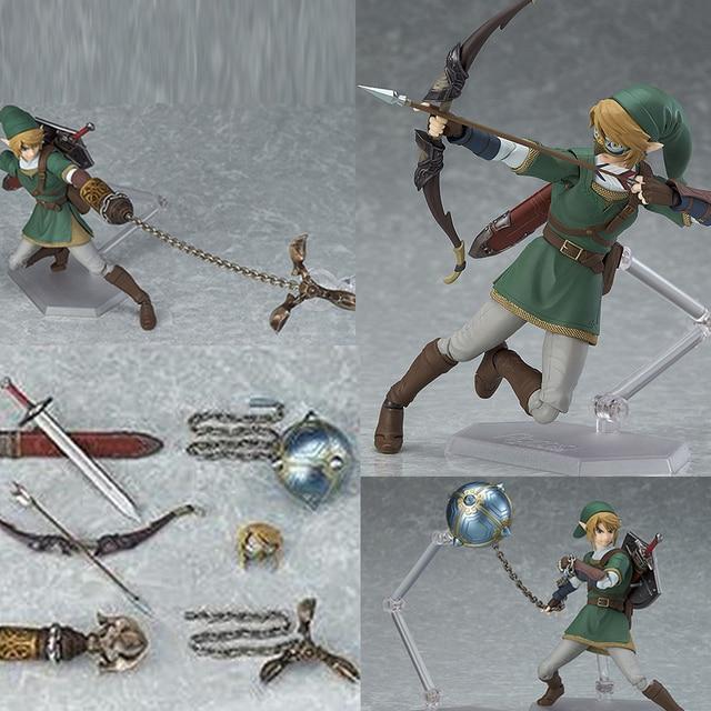 The Legend of Zelda Skyward Sword Link Figma 320 Twilight Princess Action Figure Toys Doll