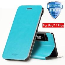 meizu pro7 case meizu pro 7 case cover flip leather mofi luxury protective stand capa 5.2 pro 7 meizu pro 7 plus cover 5.7 case
