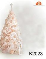 5X7ft Hand gemalte fantasie Muslin backdrops foto  fotografia profissional  weihnachtsbaum fotografischen hintergrund K2023