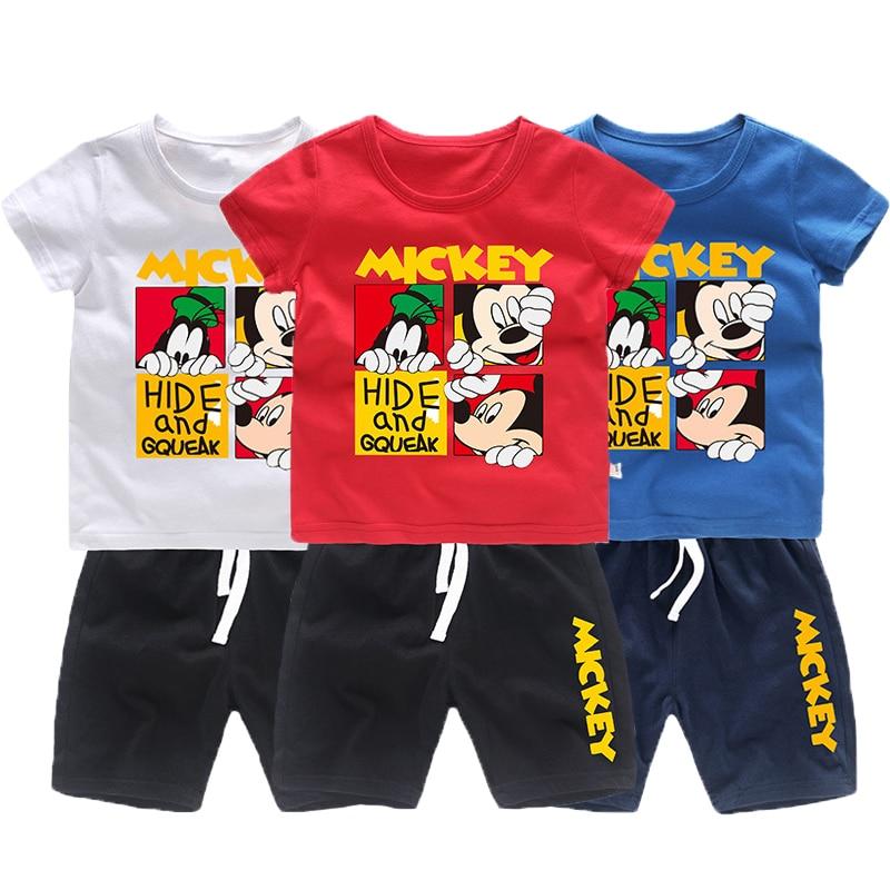 b9000dfea4b Комплекты одежды для мальчиков с Минни и Микки Маусом