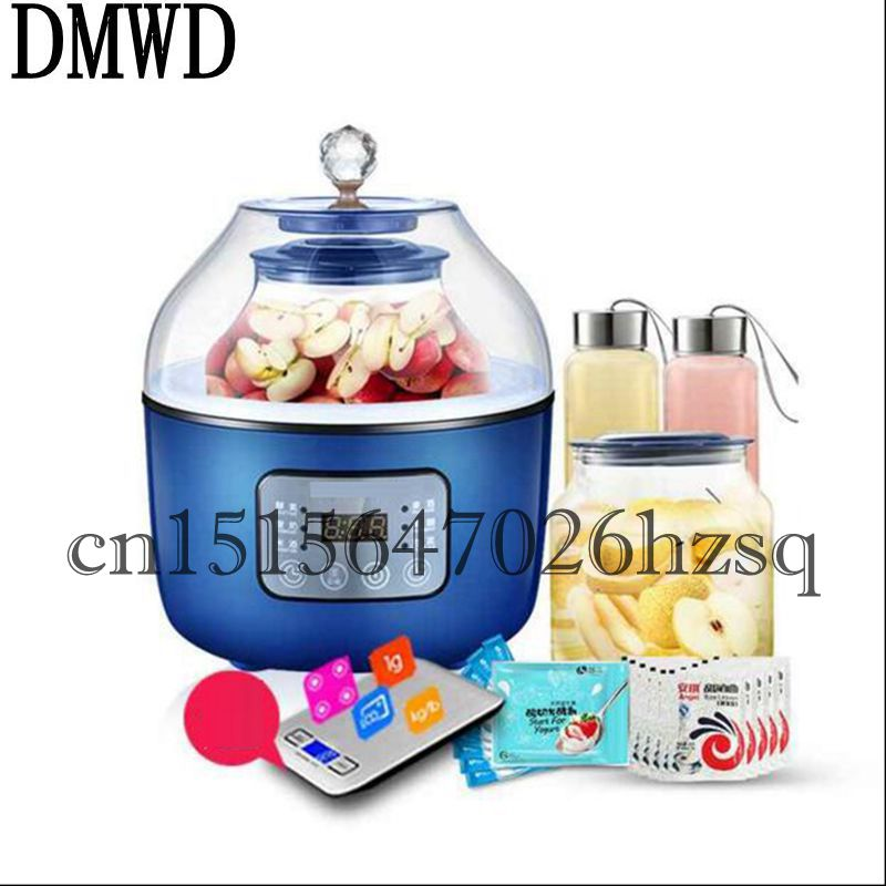 DMWD Multifunctional Household 20W Enzyme/Yogurt/Rice wine/red wine making machine Two liners Fully Automatic ferment maker cellulase enzyme production from trichoderma reesei