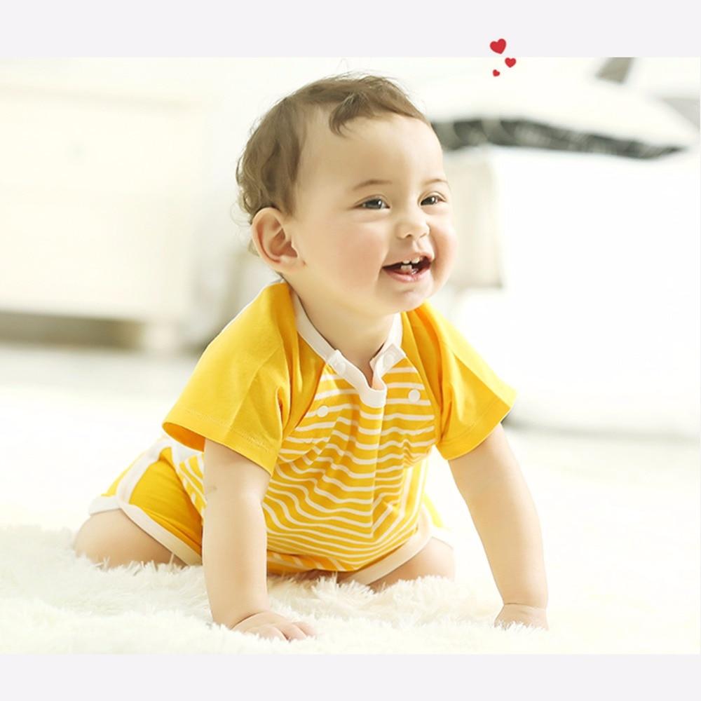 COBROO Baby-streepjes-tops met O-hals korte mouwen Unisex-baby - Babykleding - Foto 5