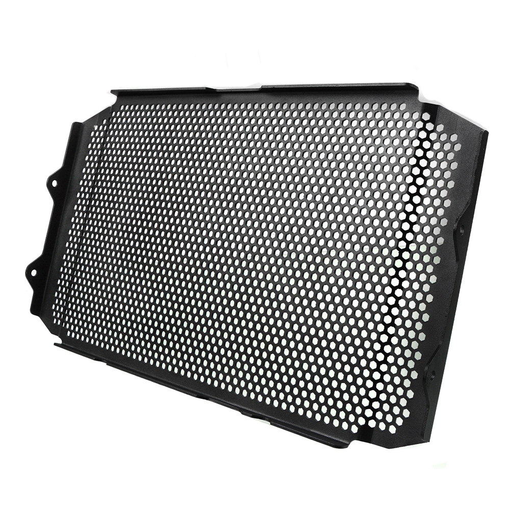 Image 2 - XSR900 16 18 Motorcycle Parts Aluminum Radiator Grille Guard Protection Cover For Yamaha XSR900 XSR 900 2016 2017 2008 Black-in Covers & Ornamental Mouldings from Automobiles & Motorcycles
