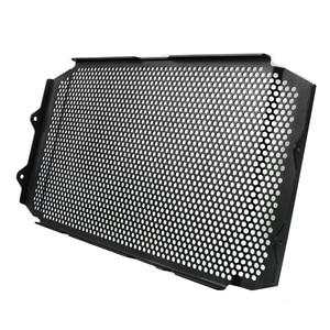 Image 2 - XSR900 16 18 אופנוע חלקי אלומיניום רדיאטור גריל משמר הגנת כיסוי עבור ימאהה XSR900 XSR 900 2016 2017 2008 שחור