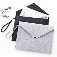 482e49cbb474 A4 химических чувствовал файл в папку прочный Портфели мешок документа  Бумага Папки канцелярские магазине школьных офис мешок