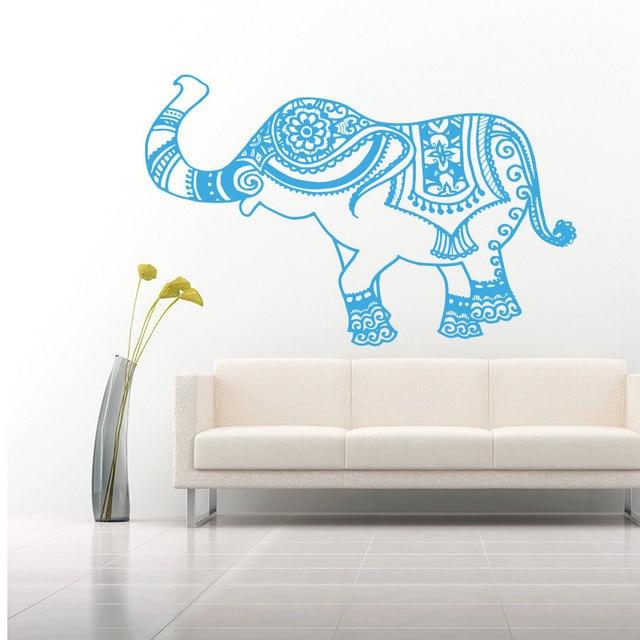Vinilo PEGATINAS ARTE Decoración para el hogar murales elefante ...