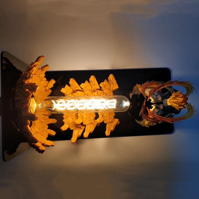 드래곤 볼 z 인형 베지터 led 램프 룸 장식 dbz 슈퍼 saiyan 테이블 라이트 액션 피규어 pvc modle toys gift-에서액션 & 장난감 숫자부터 완구 & 취미 의  그룹 3