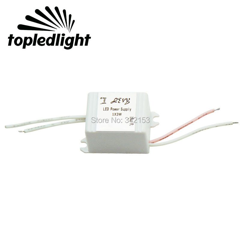 High Power 3W LED Driver Lighting Transformers Power Supply AC60 240V 650mA IP65 Dustproof Portable Lighting