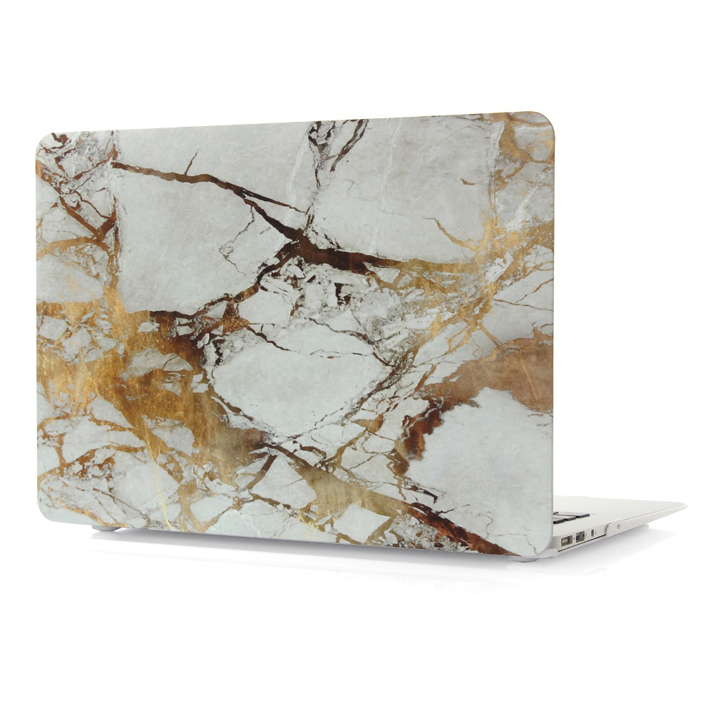 Image 5 - Marble Pattern Hard Case & Keyboard Cover For Macbook Pro 13.3 15.4 Pro Retina 12 13 15 inch for Mac book Air 11 13 Laptop Case-in Laptop Bags & Cases from Computer & Office
