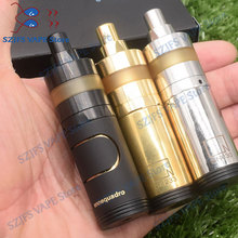 e-cigarette ennequadro mod kit with KAYFUN LITE 22mm 316ss rta 18350 battery Vaporizer Mechanical vape electronic cigarette Kit electronic cigarette jsld 80w kit vape built in 2000mah battery box mod large smoke steam vape kit vs txw 80w vape e cigarette