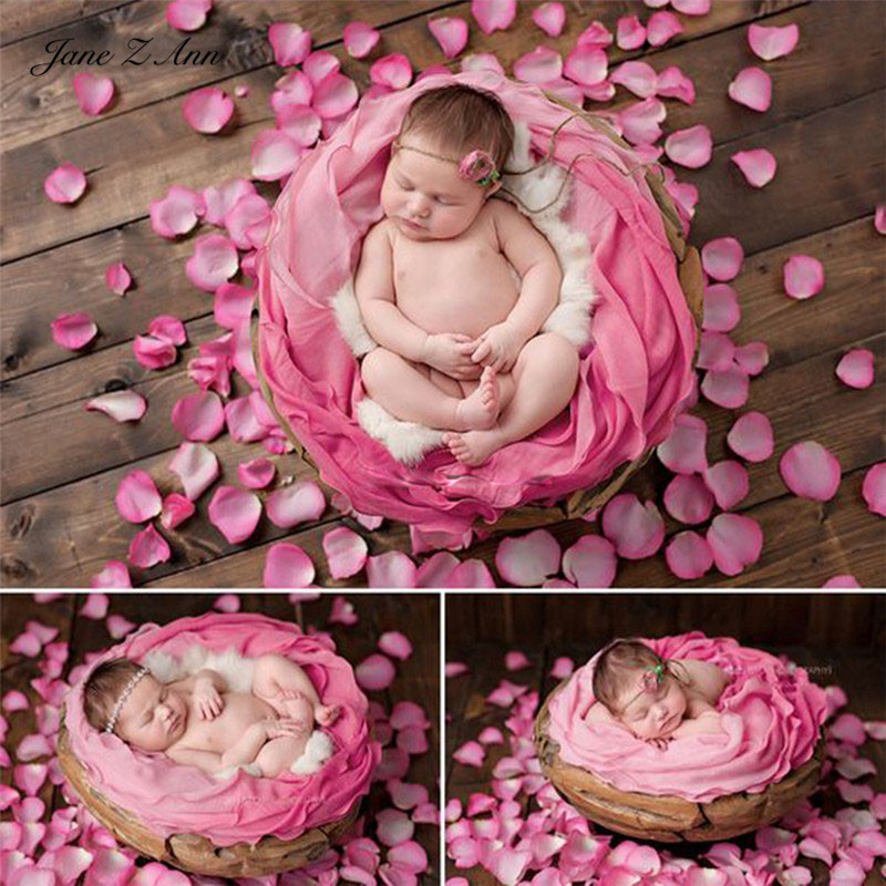 Petals Shooting-Accessories Photo-Props Jane Newborn Cloth Studio Silk Simulated Z-Ann
