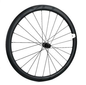 Image 3 - EVO 38mm depth road bike disc brake carbon wheels 25 width Tubeless cyclocross carbon wheelset with center lock disc brake hubs