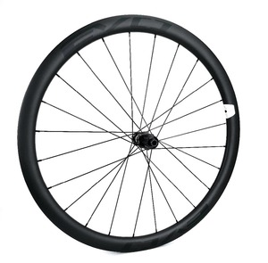 Image 3 - EVO 38mm derinlik yol bisiklet fren diski karbon tekerlekler 25 genişlik Tubeless cyclocross karbon tekerlekler et merkezi kilit disk fren hub