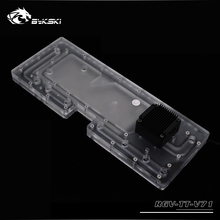 BYKSKI Acrylic Waterway Board tank compatible Tt View 71 computer Case for CPU and GPU Block / 3PIN RGB 5v / Combo DDC Pump barrow lrc 2 0 watercooling waterway board for tt view 71 tg tg rgb computer case acrylic plate compatible prime z370 a