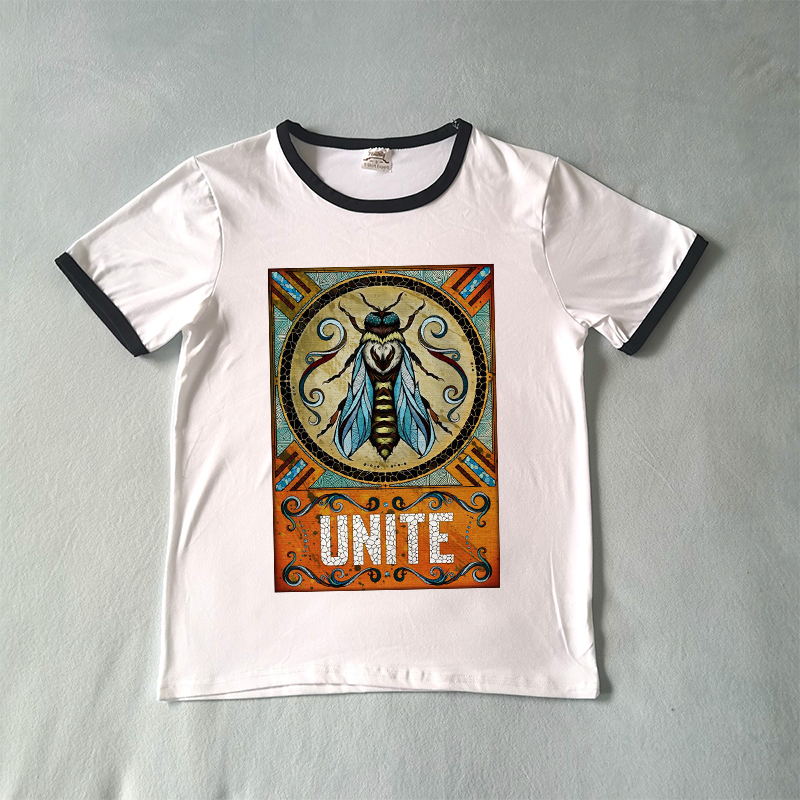 f01248c96 Bees Are Unite Moral Graphic Tee Save The Bee T-shirt Women Plus Size  Fashion
