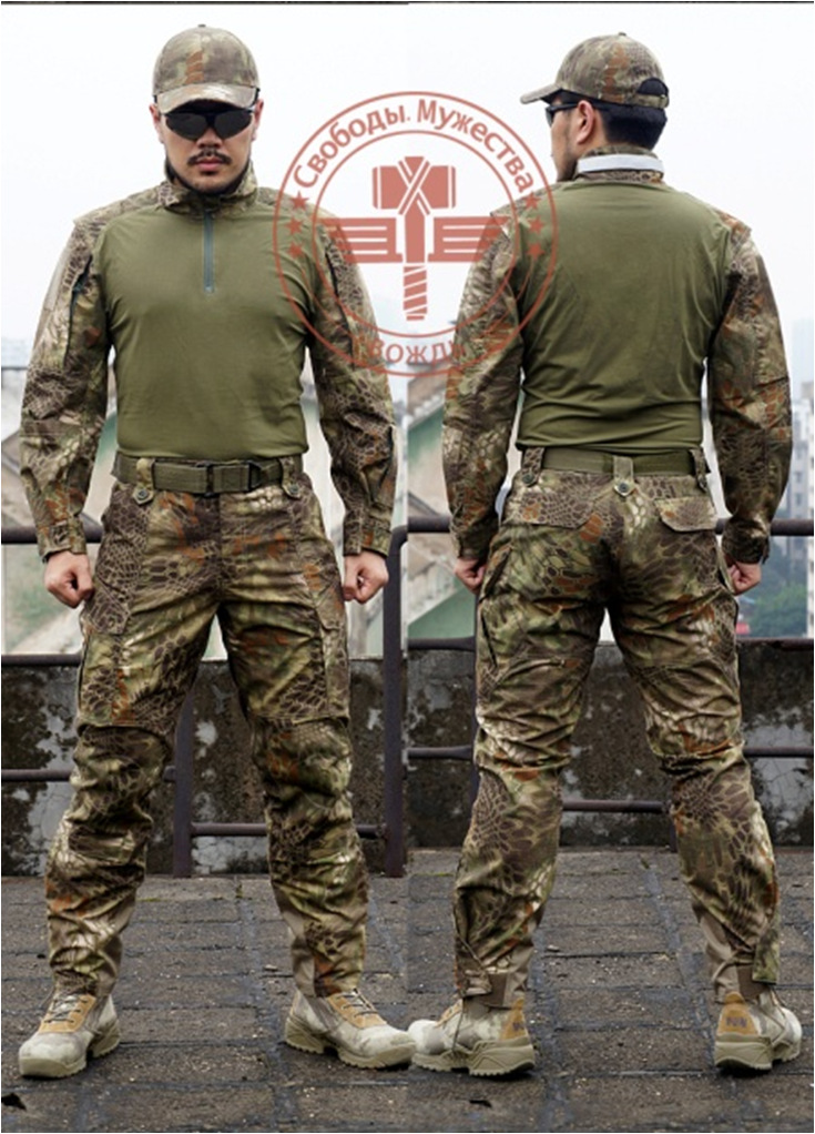 kaiser chiefs kaiser chiefs stay togehter 2 lp CHIEFS Tactical Clothes Suits Rattlesnake Professional Edition Military Hunting Camouflage T-Shirt & Pants Airsoft Wargame Gear