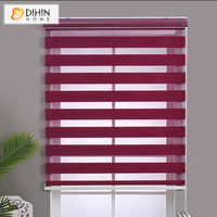 New Arrival High Quality 15 Colors Customized Zebra Blinds Rollor Blind Curtain Easy To Install Curtains