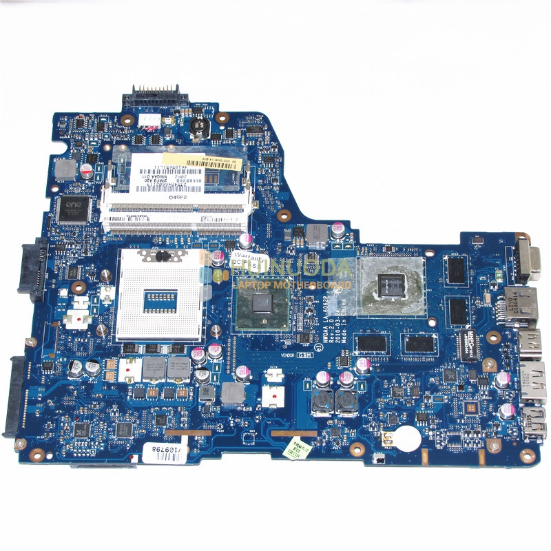 NWQAA LA-6062P Rev 2.0 MB K000104390 For toshiba satellite A660 A665 Laptop motherboard GeForce GT330M nokotion la 6062p rev 2 0 k000104430 for toshiba satellite a660 a665 laptop motherboard hm55 geforce gt330m