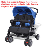 Portable Stroller Twins Baby Stroller Ultra Light Folding Umbrella Stroller Travel Double Strollers Brand Can Be On Plane Car