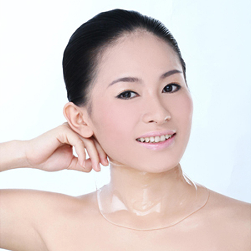 Neck Lift Hydrogel Mask 5pcs Collagen Neck Mask anti Age and Sun Spots Collagen Mask in