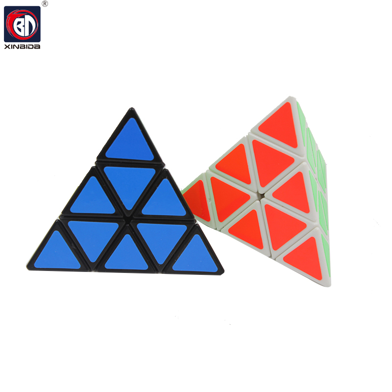 BD, Pyramid magic cube, Funny Fidget Cube, Hand Spin Anti-stress Toy, Children Toys Educational, Puzzle Speed Challenge Gifts 19
