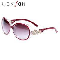 Women Sunglasses 2014 New Style Polarized High Quality Anti UV Fashion With Rhinestone Diamond