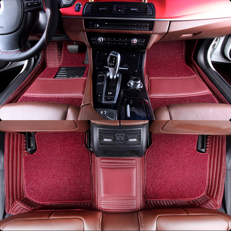 Полный Крытая проволочного автомобильные коврики Водонепроницаемый прочный ковры для Citroen Infiniti Renault Ford Jaguar Alfa Romeo большинство автомобилей