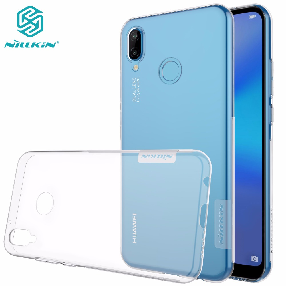 nillkin case for huawei p10 - Huawei P20 lite case cover NILLKIN TPU case For Huawei P10 lite P20 lite P20 Pro Ultra thin clear Transparent soft back cover