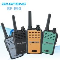 New Model Baofeng BF E90 Walkie Talkie 10km UHF 3W Ham Radio HF Transceiver E90 Two way Radio For Kids Woki Toki Wireless