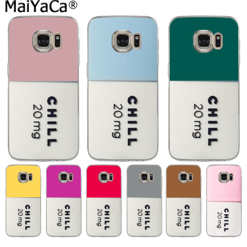Initiative Maiyaca Doctor Nurse Medical Love Pills Colorful Phone Case For Samsung S9 S9 Plus S5 S6 S6edge S6plus S7 S7edge S8 S8plus Cellphones & Telecommunications