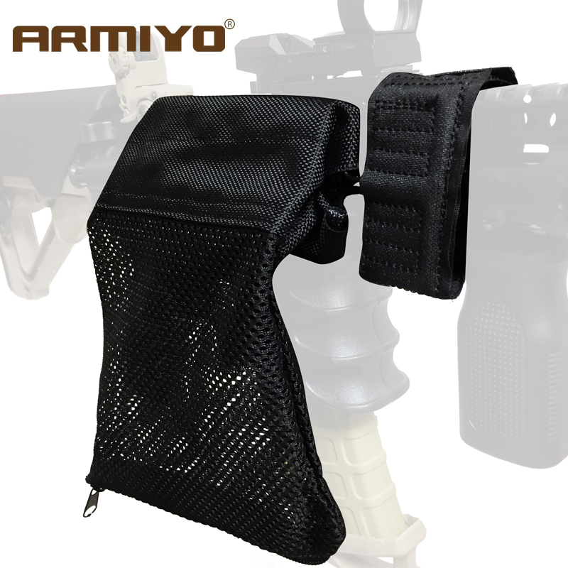 Armiyo Ammo-Shell Cartridge Bullet-Catcher-Gun Tactical-Rifle Zipper-Bag Mesh-Trap Recycling-Wrap